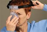Ajustar máscara nasal ComfortFusion Passo 4