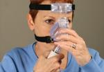 Ajustar máscara nasal ComfortFusion Passo 8