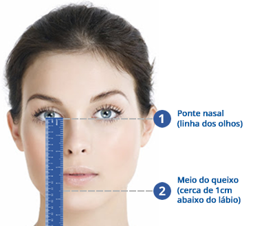 Medida Mascara facial Comfortgel Blue Full