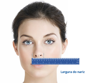 Medida Máscara nasal Mirage SoftGel ResMed