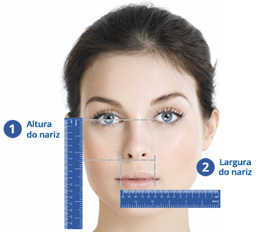 Medida Máscara nasal TrueBlue Philips Respironics