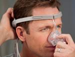 Ajustar máscara nasal Pico Passo 3