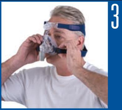 Como ajustar a máscara nasal Mirage Activa LT ResMed