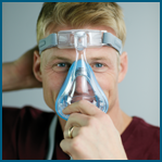 Como ajustar a máscara facial Amara Gel Philips Respironics passo 2