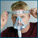 Como ajustar a máscara facial Amara Gel Philips Respironics passo 5
