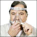 Ajustar máscara facial Amara Passo 1