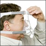 Ajustar máscara facial Amara Passo 4