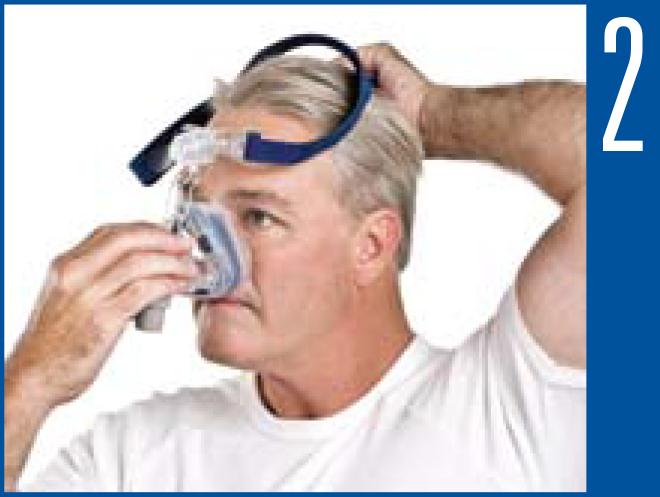 Como ajustar a máscara nasal Mirage SoftGel ResMed