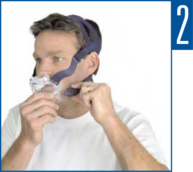 Como ajustar a máscara facial Mirage Liberty ResMed
